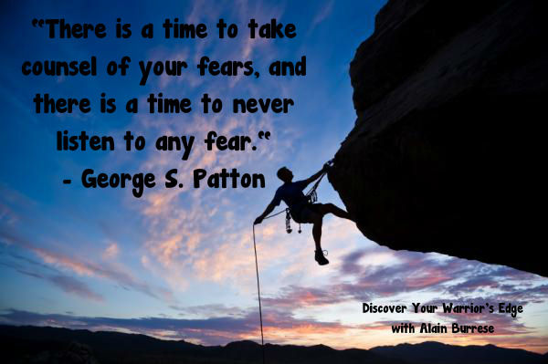 rock climbing 2 patton quote